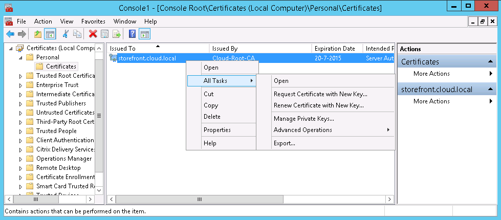 How To Import Iis Ssl Certificate On Citrix Netscaler Techswag